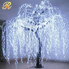 solar garden lights led white willow tree buy led willow tree