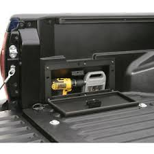 toyota tacoma truck bed toyota tacoma 2005 2017 tuffy security products truck bed lock box