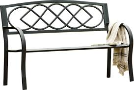 plow u0026 hearth celtic knot iron garden bench u0026 reviews wayfair