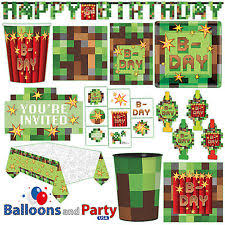 minecraft party supplies minecraft party supplies ebay