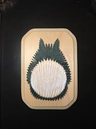 custom totoro string art anime studio ghibli perfect