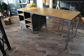 ilot cuisine bois massif table cuisine bois exceptional cuisine avec table haute 0 ilot