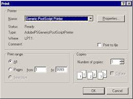 printing worksheets and graphs