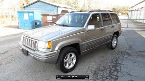 jeep pickup 90s 1998 jeep grand cherokee 5 9 limited start up exhaust in depth