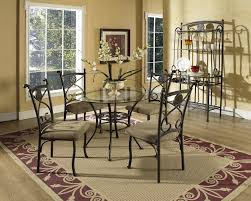 wrought iron dining room table dining room table bases metal