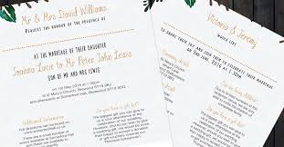 Wedding Gift List Wording Your Guide To Wedding Invitation Wording The Pretty In Print Company