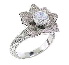 flower engagement ring vintage vintage inspired engagement rings new wedding ideas trends