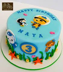 octonauts birthday cake octonauts 3rd birthday cake birthdays the hudson cakery