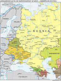 russia map belarus russia ussr cis most russians in favour of ex ussr