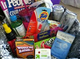 honeymoon gift basket live laugh frappy bridal shower gifts