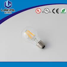 12v dc led light bulb a60 4w led filament lamp a19 smart lighting