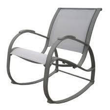 Gray Rocking Chair Modern Patio Rockers U0026 Gliders Allmodern