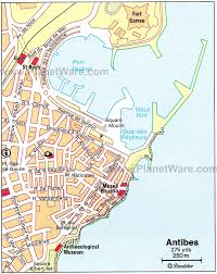map of antibes 16 top tourist attractions in antibes juan les pins planetware
