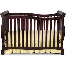 Delta Convertible Crib by Delta Children Brookside 4 In 1 Convertible Crib White Walmart Com