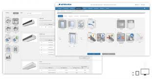 new online air curtain selection program