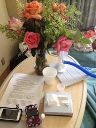 Get Well Soon Flowers Foap Com Get Well Soon Flowers In Hospital Stock Photo By