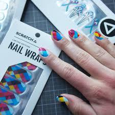 scratch nail wrap collaboration