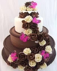 elegant chocolate wedding cake design styles time