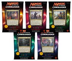 Magic The Gathering Sliver Deck Standard by 2016 Mtg Commander Decks Set Of 5 Magic Products Commander