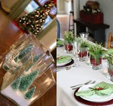 cheerful and simply décor christmas table setting ideas trendy