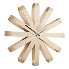 Wood Clock Designs by Umbra Shadow Wall Clock Designer Wooden Clock