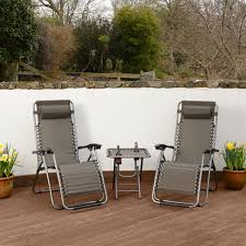 Zero Gravity Chair Table Folding Recliner Chair Table Set Zero Gravity Textoline Reclining