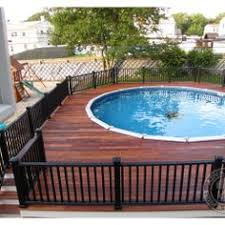 Above Ground Pool Design Ideas Oval Pool Deck Ideas Above Ground Pools Decks Backyard With Oval