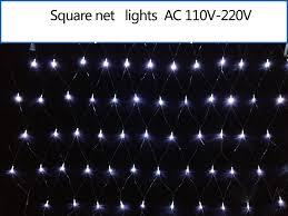 96 leds led net light string mesh lighting wedding