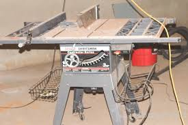 10 Craftsman Table Saw Sears Craftsman Contractor Series 10 Inch Belt Drive Table Saw