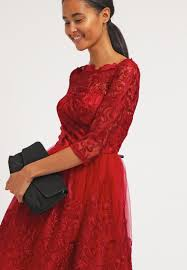 chi chi london aviana cocktail dress party dress red women