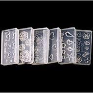 3d nail acrylic molds nail art search lightinthebox