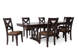 Seven Piece Dining Room Set Winners Only Java Seven Piece Dining Set Mathis Brothers Furniture