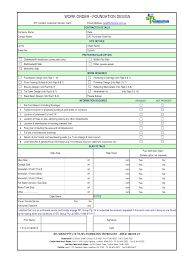 scope of work template templates collection chainimage