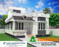 Kerala Home Plan Single Floor Kerala Single Floor Design Home 900 Sq Ft