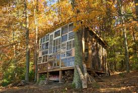 Tiny Homes Virginia by A Young Couple Quit Their Jobs And Set Off To Build A Glass Cabin