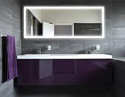 badezimmer licht badspiegel mit beleuchtung new york m303l4 design spiegel für