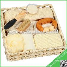 Bath Gift Basket Loofah Bath Gift Sets Shower Sets Slipper Bath Spong Mesh Sponge
