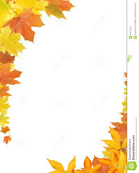 fall leaves border stock photography image 21571012