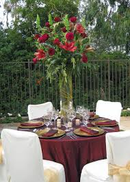 centerpieces for round tables also wedding table with candles