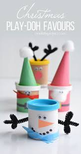 christmas play doh favours play doh favors and plays