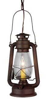 rustic lantern pendant light 114828 miners lantern mini pendant