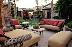 Resort Style Patio Furniture Resort Style Luxury Home For Super Bowl 2015 In Mesa A