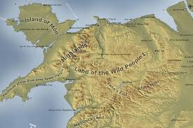 Map Of Wales Etymological Map Of Welsh Place Names Wales Online