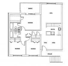2 Bedroom Granny Flat Floor Plans House Plan Home Design 2 Bedroom Bath Attached House Plan Simple
