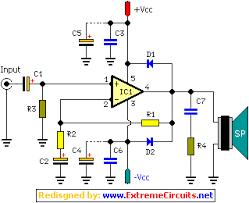 22 watt car subwoofer amplifier circuit diagram u2013 readingrat net