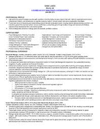 Sample Resume Project Coordinator by Sample Cv Training Coordinator