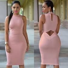 womens sleeveless bodycon bandage dress cocktail party hollow
