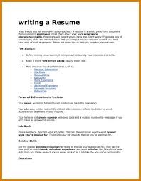 What To Put In A Job Resume by Wondrous What To Put On A Cover Letter 9 And Things To Include