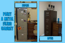 painting metal file cabinets make do i painted a metal filing cabinet and you can too