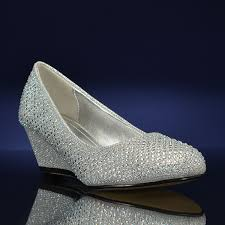 wedding shoes wide width glitzy 1 by dumas at bridalshoes